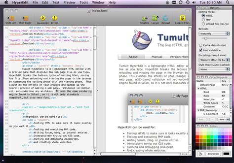 html design editor online tumult hyperedit the live html and php editor for mac os x