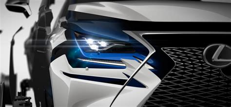 Lu Led Motor Di Malang lexus nx facelift set to debut at auto shanghai 2017