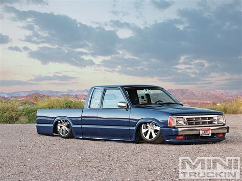mazda b2200 1987 mazda b2200 probation blues mini truckin magazine