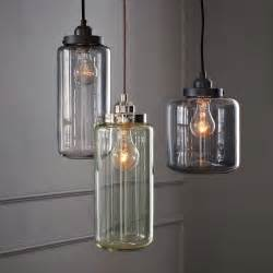 Glass Jar Pendant Light Glass Jar Pendant Lights Crnchy