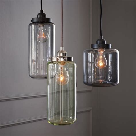 Glass Jar Pendant Lights Crnchy Jar Pendant Lights