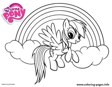 my little pony coloring pages rainbow my little pony baby rainbow dash coloring pages