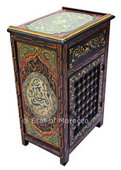 Moroccan Wardrobe by Moroccan Nightstands Moroccan End Table For The Home