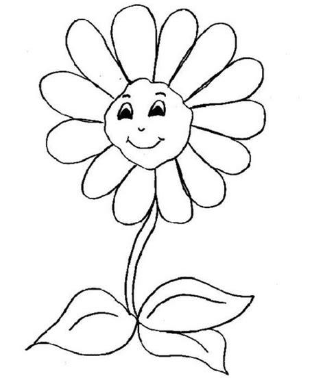 dibujos infantiles con animales flores y plantas en dibujos de flores animadas para colorear