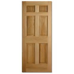 Oak Exterior Doors Lpd Colonial 6 Panel Oak Exterior Door Doorsworld