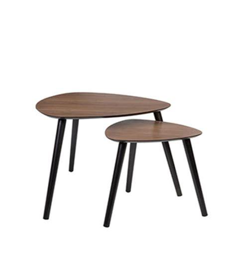 Exceptionnel Petite Table Basse De Salon #10: Set-de-2-tables-basses-gigognes-en-bois-marron-fonce.jpg