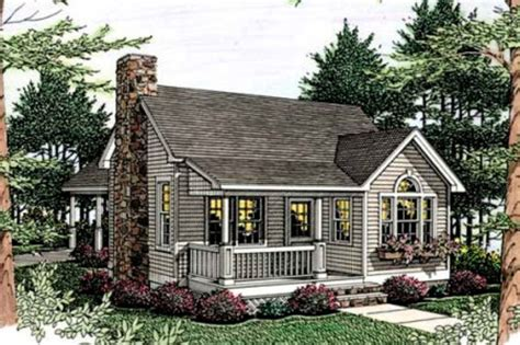 small cottage house plans with attached garage cottage style house plan 1 beds 1 baths 852 sq ft plan