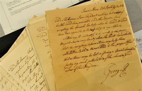 In Letters letters from 1700s penned by britain s mad king george