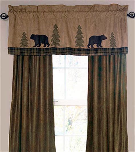Log Cabin Curtains Valance Window Treatments Shop Everything Log Homes