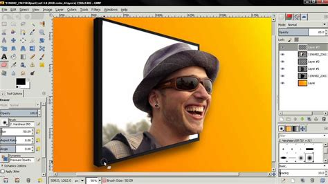 tutorial the gimp 2 8 3d photo effect part 2 gimp 2 8 tutorial gimp video