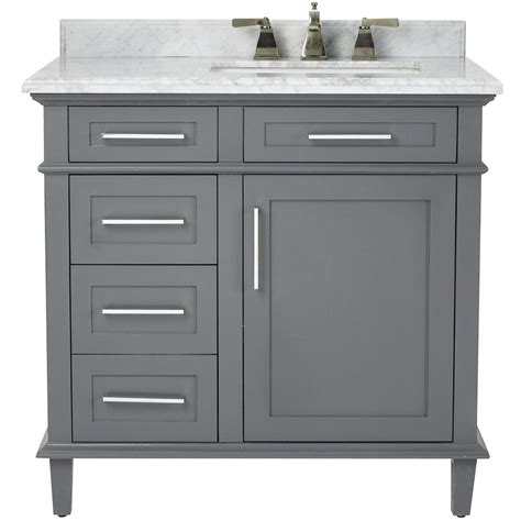 Bathe Vanities by Home Decorators Collection Sonoma 36 In W X 22 In D Bath