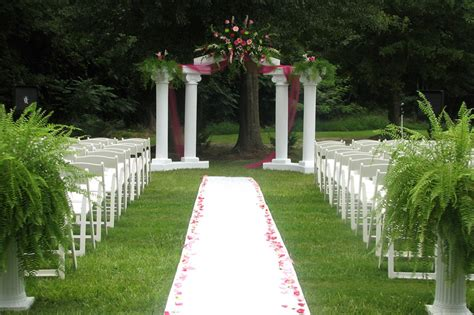Garden Wedding Decor Ideas Outdoor Wedding Decoration Ideas Ideas