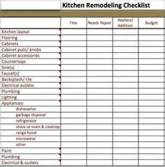 house renovation checklist bathroom remodel checklist template google search new home pinterest search