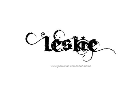 tattoo design name leslie 16 png 879 215 544 random images