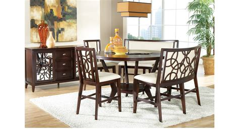 highland park 4 pc counter height dining room