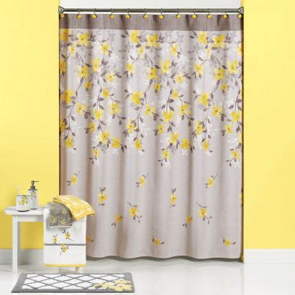 spring bathroom fittings shower curtains matching bath accessories bath decor