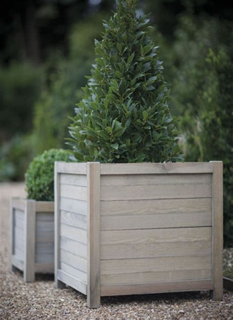 Wooden Garden Planters Ideas Best 25 Large Wooden Planters Ideas On Wooden Garden Boxes Large Garden Planters