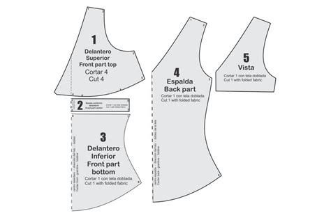 moldes corte costura gratis blusa bc104