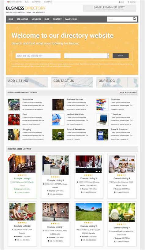 business listing website template 50 best listing directory themes 2018 freshdesignweb