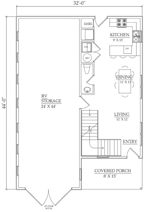 rv garage floor plans the homestead the barn factorythe barn factory