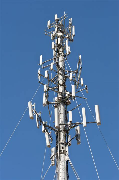 design brief of a cell phone tower sexton commissioners had antennae up over cell tower