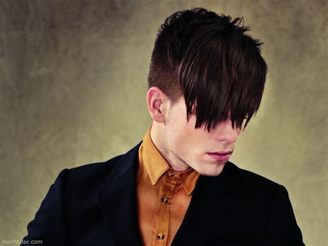 haircuts longer on sides than back male fashion hairstyle clipped short all around with