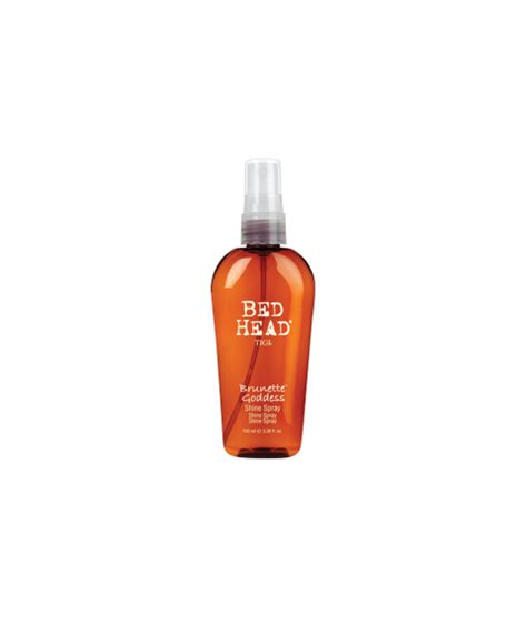 bed head shine spray tigi bed head bed head brunette goddess shine spray pakcosmetics