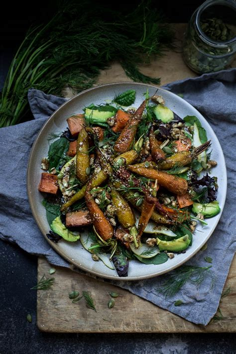 roasted root vegetable pasta a roasted vegetable salad for all seasons