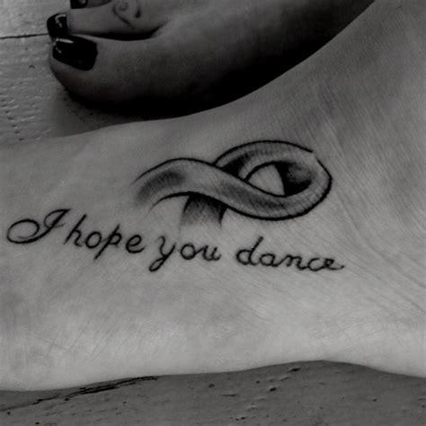 i hope you dance tattoo