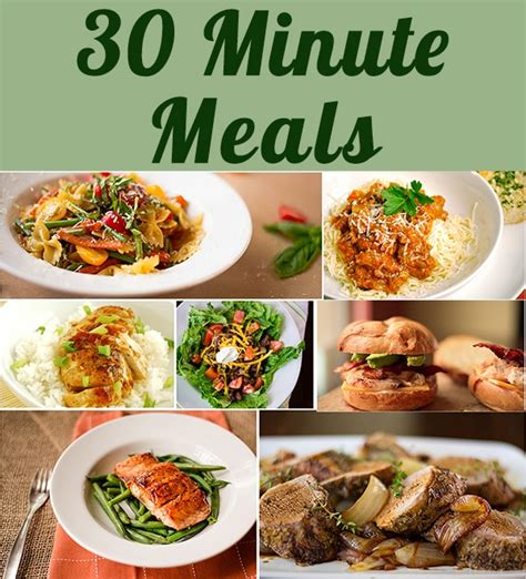 30 minute meals a sweet pea chef