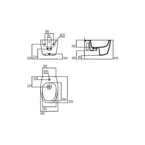 bidet ideal standard bidet sospeso serie dea ideal standard