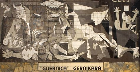 picasso paintings during civil war guernica cuadro wikiwand