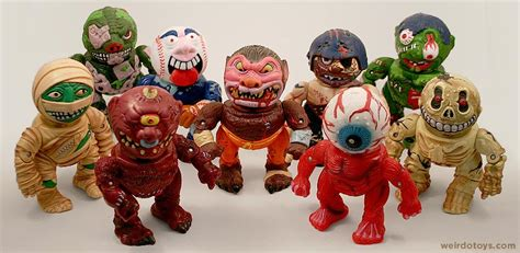 the mad toy madballs head popping action figures weirdo toys weirdo toys