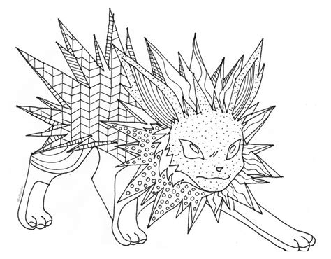pokemon coloring pages jolteon coloring pics of pokemon vaporeon at yescoloring jolteon