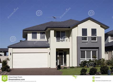 Small Mansion House Plans modern suburban house stock photos image 2950843