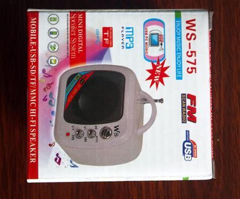 Speaker Portable Yestosa Ws 575 2013 sale new multi function portable mini speaker