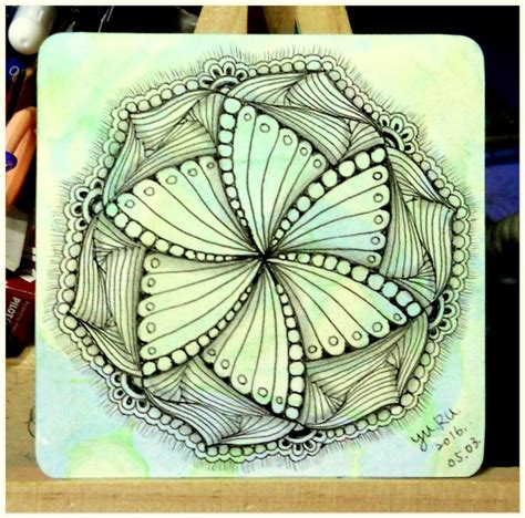 zentangle pattern quipple 17 best images about zendala and mandala on pinterest