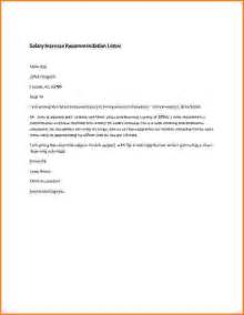 salary increase letter to employer template doc 600600 salary template sle salary