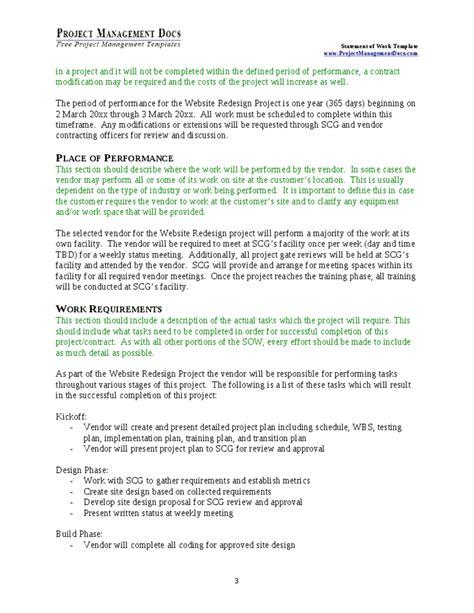 statment of work ins ssrenterprises co