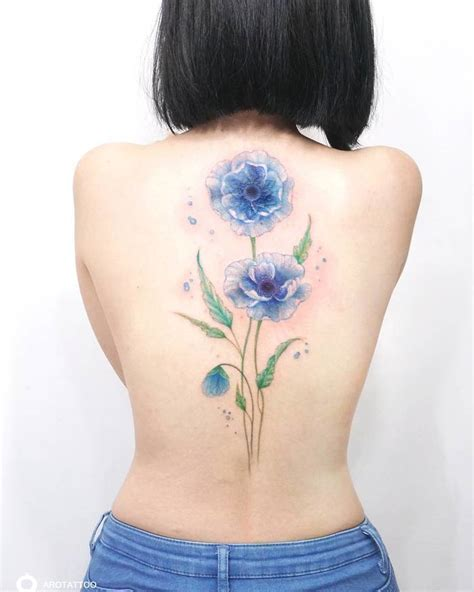 delicate floral tattoo designs by tattooist silo tattoobloq