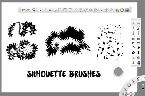 sketchbook pro brush sets foliage brushes for sketchbook pro brushes on creative
