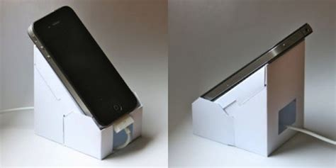How To Make Paper Phone - how to make your own iphone stand out of paper mactrast