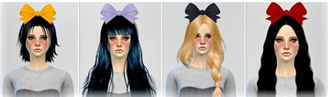 bow baby at jenni sims 187 sims 4 updates sims 4 bow big bow hair accessory at jenni sims 187 sims 4