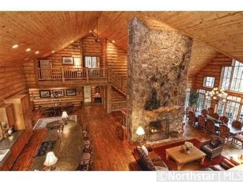 log cabin open floor plans look at those counters love the open plan mn lake