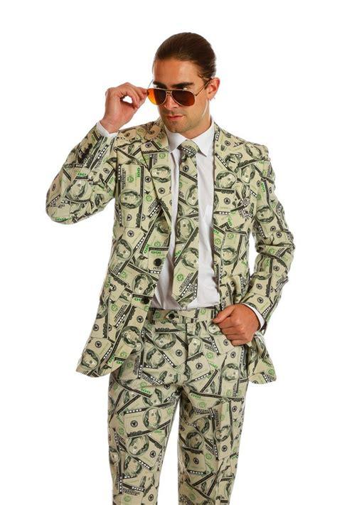 Money Dress c r e a m money print dress suit shinesty