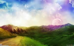 colorful landscapes colorful sky landscape wallpaper 44061 open walls