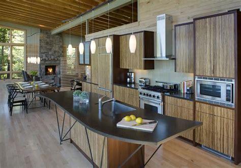 modern lake house interior kitchen inspiration decosee