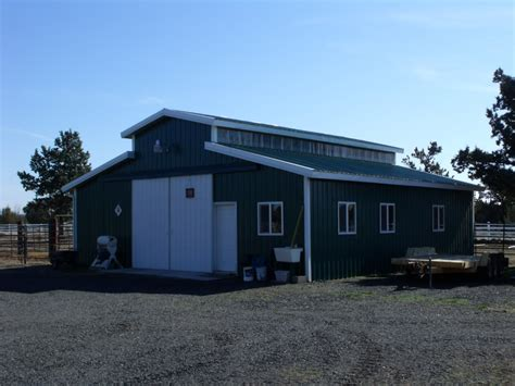 monitor style barn barns michael r construction