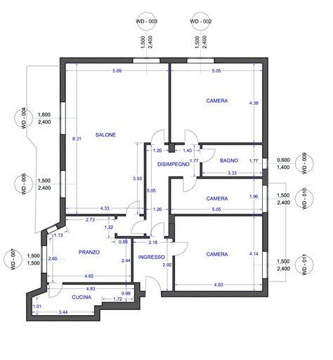 come dividere un appartamento di 100 mq un appartamento di 150 mq da ripensare per intero la