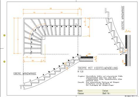 Treppe Konstruieren Zeichnen